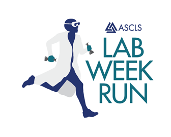 Lab week run logo 2019