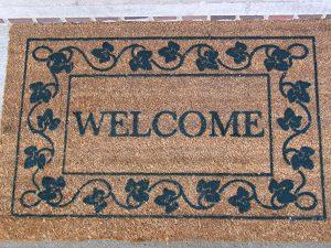 Welcome mat 2