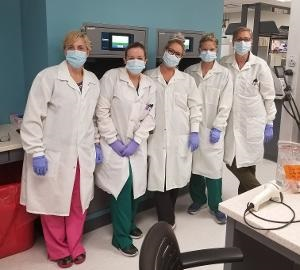 Medical laboratory professionals at McLaren Port Huron