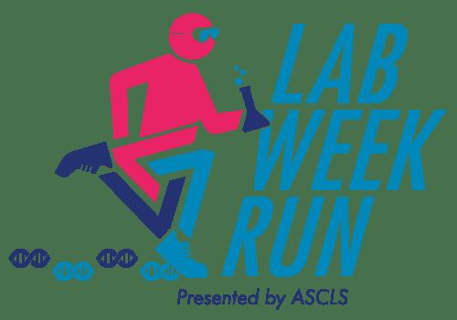 logo lab week run stacked