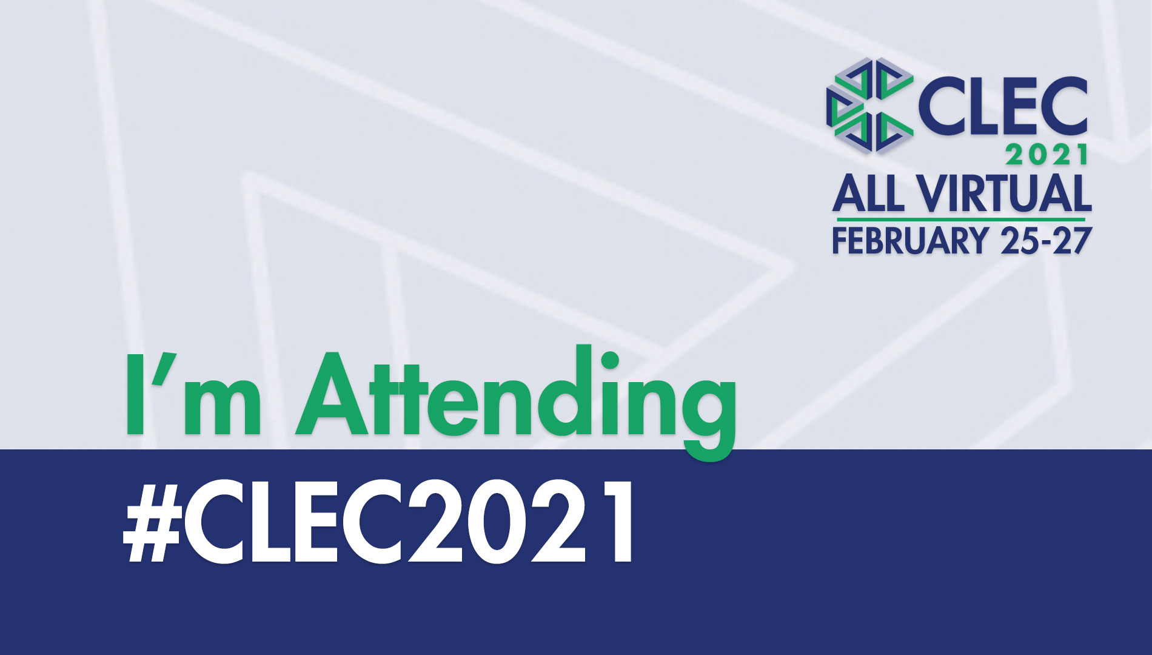 CLEC 2021 Attending