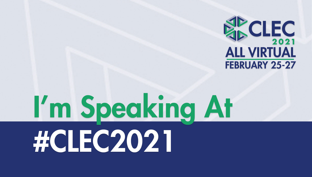 CLEC 2021 Speaking