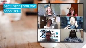 2020 Virtual Joint Annual Meeting Screenshot