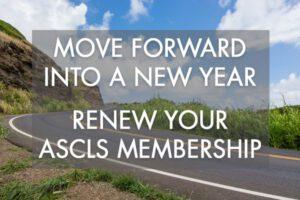 Renew Your ASCLS Membership
