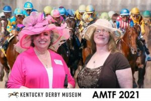 Barbara Snyderman and Marianne Downes at AMTF 2021