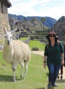 Joanna Ellis in Peru